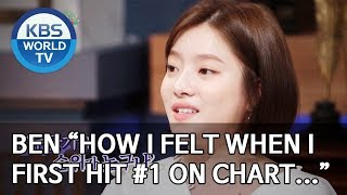 """Ben """"How I felt when I first hit #1 on chart…"""" [Happy Together/2019.08.22]"""