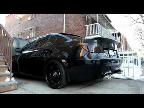 My BMW 545i with Cherry Bomb glasspack exhaust