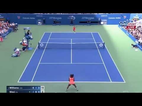 Serena Williams vs Roberta Vinci Highlights US OPEN 2015