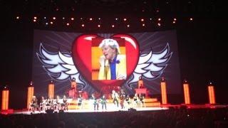 Rod Stewart Las Vegas Live 2013