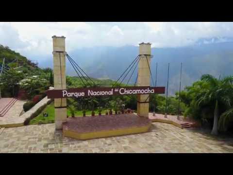 Cañón del Chicamocha - Drone view