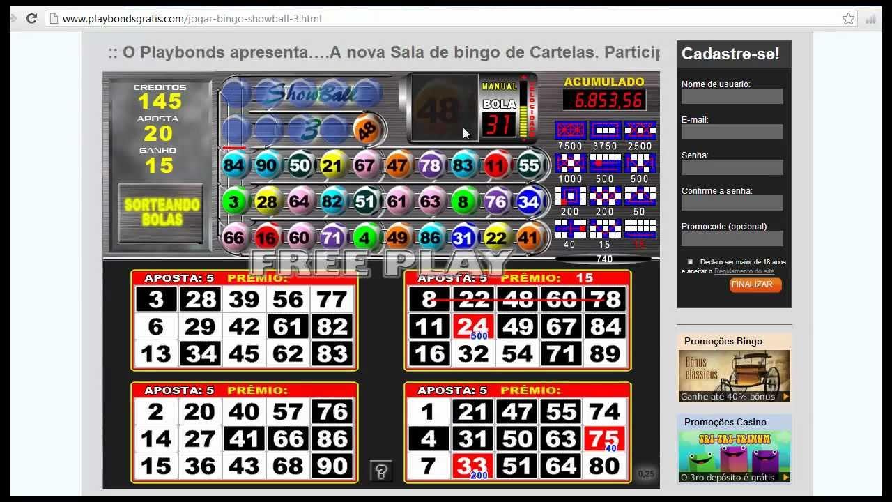 Jogos Bingos Gratis