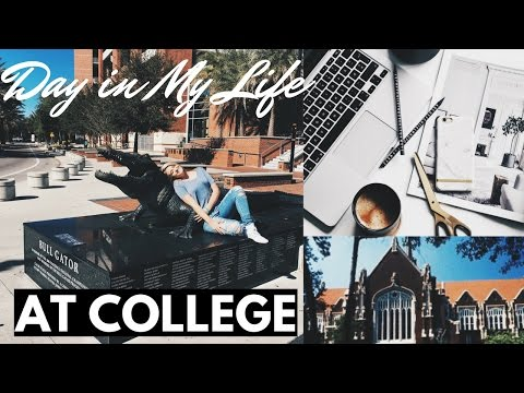 DAY IN MY LIFE VLOG AT UNIVERSITY OF FLORIDA + SORORITY HOUSE TOUR