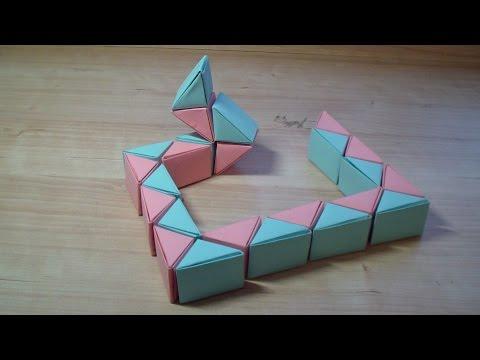 Змейка Рубика Кубика. Как сделать Шар из Змейки Рубика - обучающий урок