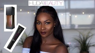 HUDA BEAUTY #FAUXFILTER FOUNDATION (COFFEE BEAN 530) + The Complexion Perfection Primer