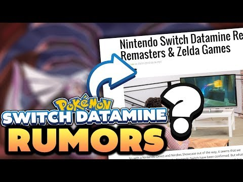 Download Youtube: Pokémon Switch RUMOR! Nintendo Switch Data Miner Claims New Pokemon Switch Game Names!?