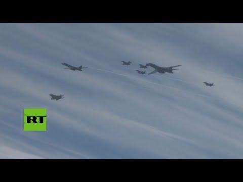 """EE.UU. y Corea del Sur ensayan bombardeos """"en respuesta"""" al misil de Pionyang"""