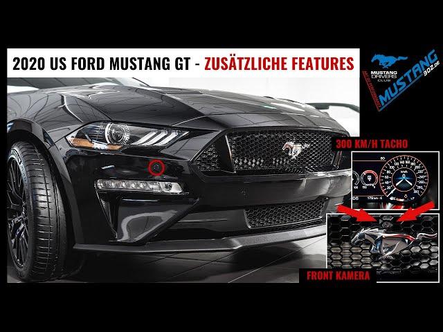 2020 Ford MUSTANG GT Premium (US Version) - Zusätzliche Features, exklusiv & individuell