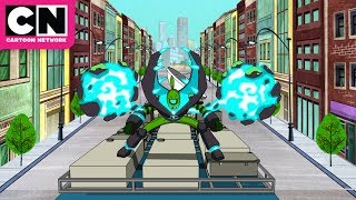 ben 10 ben fights king koil and kimodo cartoon network