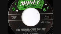 The Larks- The Answer Came Too Late