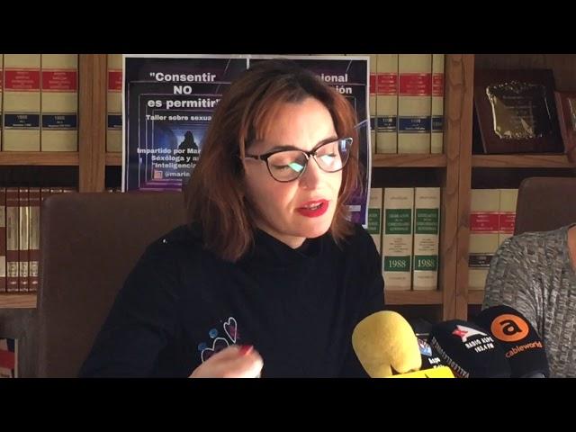 Presentación actividades Día Contra la Violencia de Género 2019 #Aspe