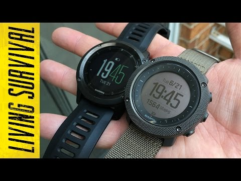 Suunto Traverse Alpha vs. Garmin fenix 3 Side-by-Side