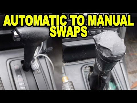 Automatic to Manual Transmission Swaps, Is It Worth It?