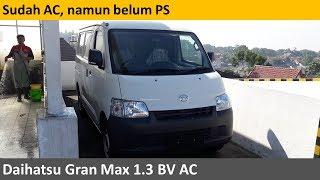Daihatsu Gran Max 1.3 BV AC review - Indonesia