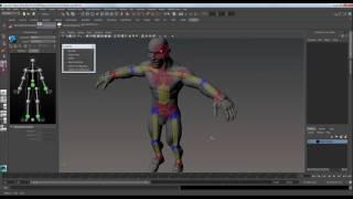 011 Ознакомление с HIK системой в Maya (Interactive animation cource)