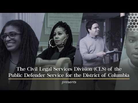 PDS Civil Legal Services Division Testimonials (2019)