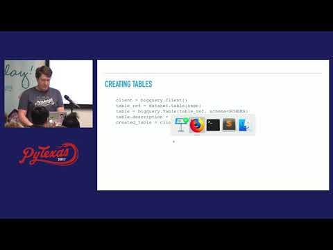 Image from Big Data with Python & Google BigQuery