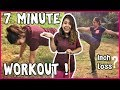 7 DAY CHALLENGE : 7 MINUTE WORKOUT TO LOSE BELLY FAT - HOME WORKOUT TO LOSE INCHES