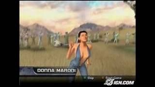 Outlaw Golf 2 Xbox Gameplay - Sassy Donna.