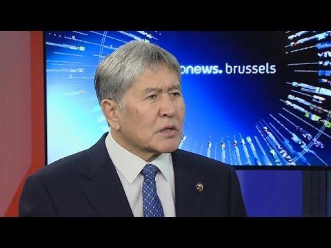 Euronews talks to Kyrgyz president Atambyev