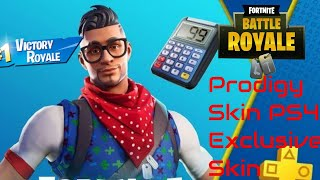 "La peau exclusive ""Prodigy"" de la peau PS4 ""Prodigy"" Victory Royale! w/ Jayden et Riley (Fortnite Battle Royale)"