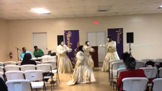 Jabez Mime Ministry performing Broken by Shekinah Glory Ministry