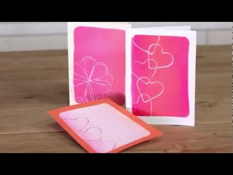 How to Make Homemade Valentine's Day Cards