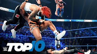 Top 10 Friday Night SmackDown moments: WWE Top 10, Sept. 17, 2021