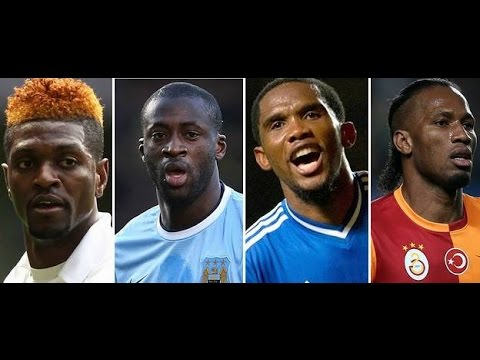 Top 10  Best African Strikers  Football Players ● 2016 HD
