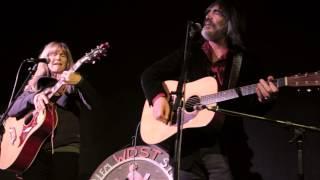 "Larry Campbell & Teresa Williams - ""Bad Luck Charm"" - Radio Woodstock 100.1 - 3/13/15"