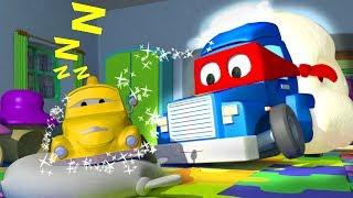 Трансформер Карл и Песочный грузовик в Автомобильном Городе | Мультик про грузовички для детей