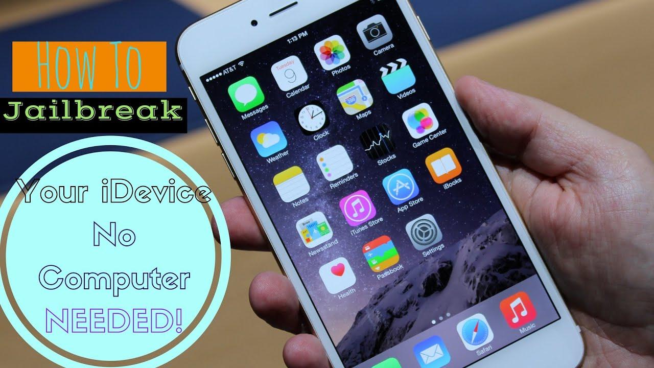 How To Jailbreak iOS 9.2-9.3.3 No Computer Needed! Free - YouTube