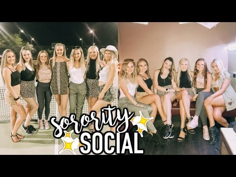 College Week In My Life | Sorority Social, Shopping, Frat Date Party