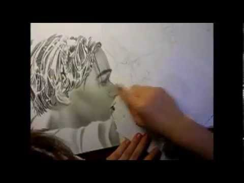 My Drawing of Jack & Rose from Titanic - YouTube