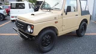 ジムニー JA12C 幌車 5MT thumbnail