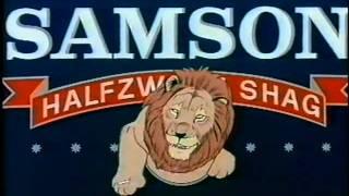 Samson Shag Tobacco Lion Ad
