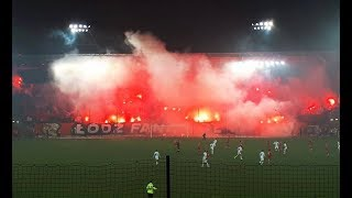 Oprawa na meczu Widzew Łódź - Stal Stalowa Wola | 01.12.2018