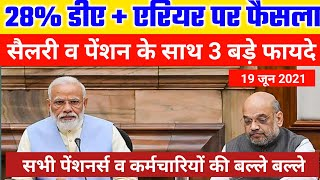 7th pay commission latest news: central government employees da in july 2021 latest news in hindi