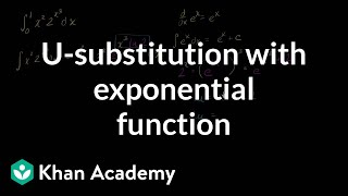 _-substitution: definite integral of exponential function | AP Calculus AB | Khan Academy