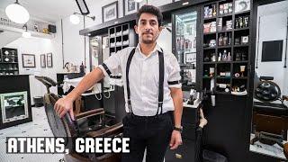 Video Prohibition Wet Shave at 1920 The Metropolitan Barber Shop in Athens, Greece download MP3, 3GP, MP4, WEBM, AVI, FLV September 2017
