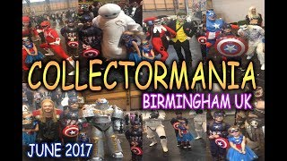 COLLECTORMANIA!!! Birmingham UK 2017
