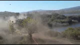 Accidente en Rally Argentina