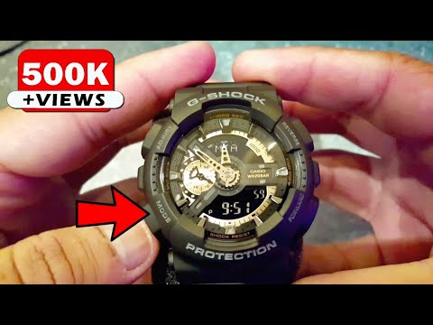 How To Set The Date & Time On Casio Gshock 5146 5425 (Analog And Digital)