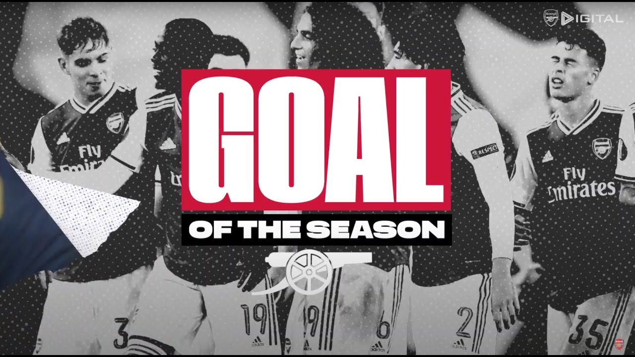 Top 10 Arsenal Goals of the Season   Which is your favourite?