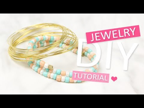 DIY Tutorial: Beadalon Memory wire – Zelf sieraden maken