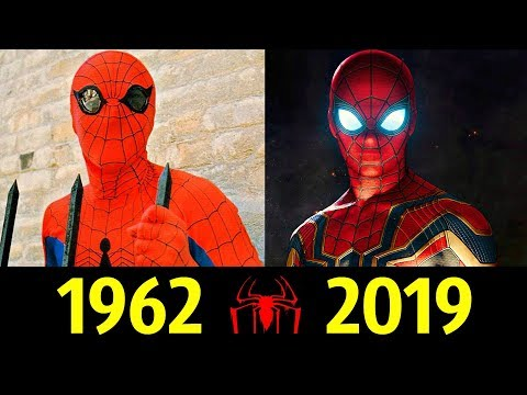 Человек-Паук - Эволюция (1962 - 2019) ! История Питера Паркера !