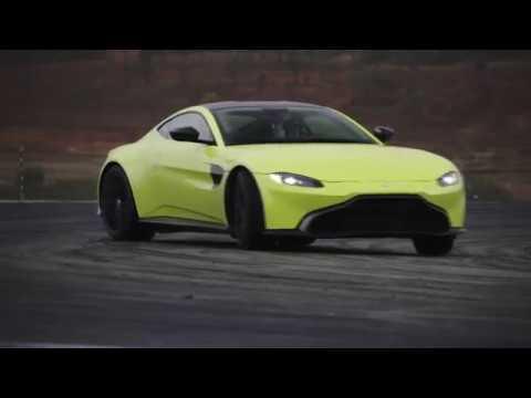 2019 Aston Martin Vantage Headlights Tail Lights Youtube