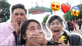 HONGKONG DISNEYLAND! (ROAD TO MAMA2018)