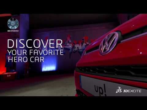 VW Up! - Virtual Reality Experiences | DASSAULT SYSTEMES 3DEXCITE