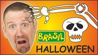 Músicas de Halloween e Histórias para Crianças | Steve and Maggie Brasil | Música Feliz Halloween